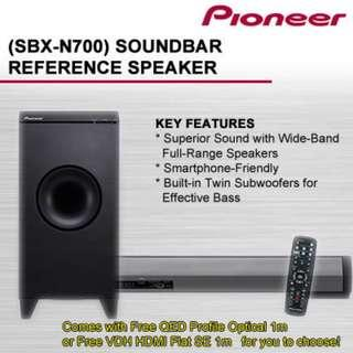 Pioneer SBX N700 Soundbar with subwoofer