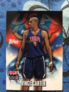 Vince Carter Topps Team USA sydney 2000 card lot