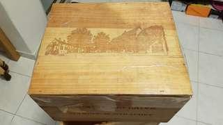 紅酒木箱(連蓋)