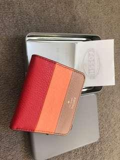 Fossil small leather wallet
