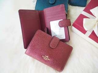 Coach medium zip wallet