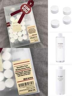 [100%NEW。 無印。MUJI。敏感肌膚。爽膚水。化妝水。敏感肌膚乳液。Christmas gift。聖誕禮物。