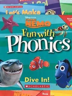 🚚 Finding Nemo phonics set