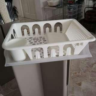 Ikea dish dryer rack cum tray