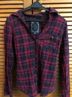 GUESS Red Checked Shirt