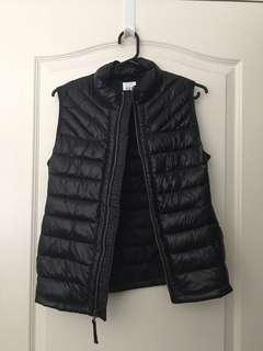 Gap Puffer Vest Jacket Black NWOT