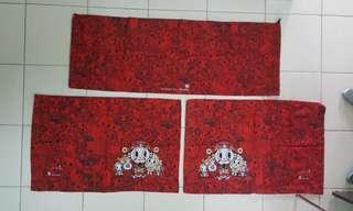 TOKIDOKI mbs pillow cover x2 bolster cover x1