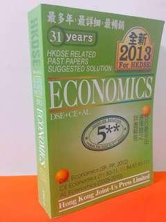 2013版 Economics Paper Papers Suggested Solution
