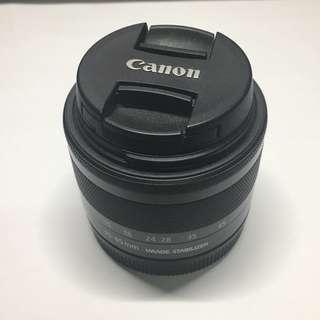二手新淨 Canon EOS M 15-45 STM Lenses鏡頭