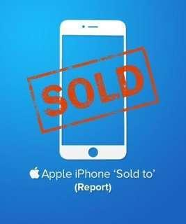 iPhone Check Telco Sold By Report