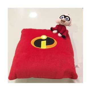 🆕McD Jack-Jack Square Cushion (Year 2004)