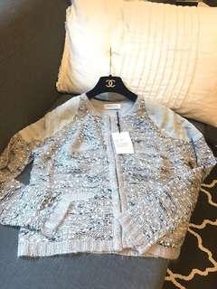 🚚 丹麥設計小香風外套莫藍迪色系