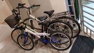 Selling 3 Bicycles