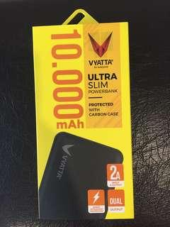 New Vyatta ultra slim powerbank 10,000mAh