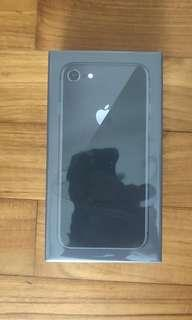 iPhone 8 Space Grey 256gb New