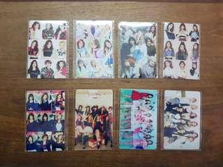 Twice Ez-Link Card Stickers