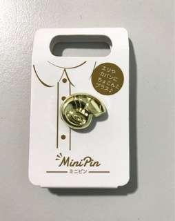 Japan Disney Shell Brooch Pin