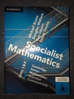 Cambridge Specialist Textbook Unit 1/2
