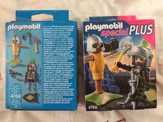 Playmobil 4768 Medieval Knight Castle Minifigure Plus