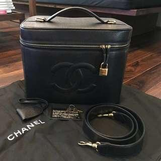 Chanel Caviar Vanity 2-way Bag