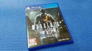 PS4  MURDRED  SOUL SUSPECT  正版 game made in Japan