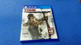 PS4    TOMB RAIDER  DEFINITIVE EDITION  正版 game made in Japan