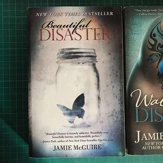 Beautiful Disaster & Walking Disaster by Jamie McGuire