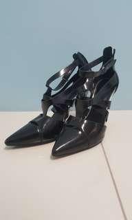 Authentic Charles & Keith Stilleto black Heels