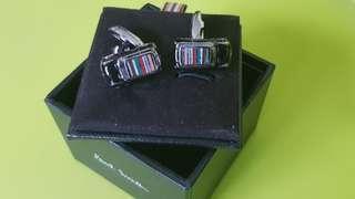 Authentic Paul Smith Mini Cooper Cufflinks