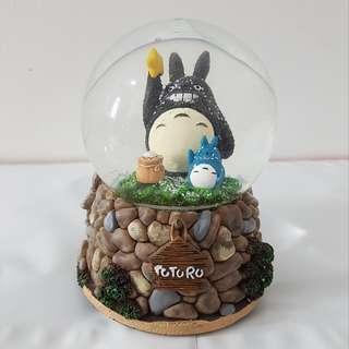 Miyazaki Totoro Crystal Ball Music Box Snow Gift/ Decor