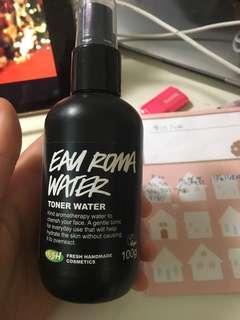Eau Roma water LUSH toner water