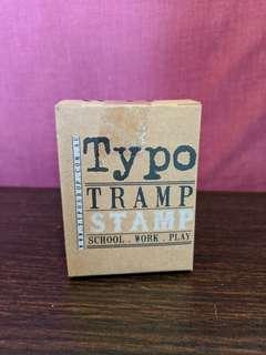 🚚 Typo Tramp Stamp (Design: WTF)