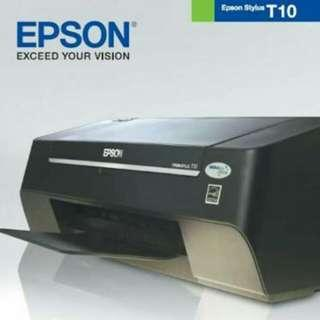 Epson T10 printer (open, but totally unused)