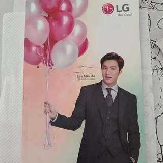 Selling  LG Lee min Ho  Limited Edition notebook