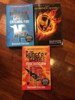 (3 for RM 29) English books Hunger Games