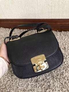 MIU MIU Golden Black China Shoulder Bag