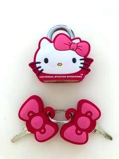 Hello Kitty Mascot Key Lock