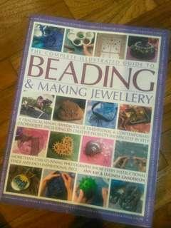 Beading & Making Jewelry Imported Book, rare