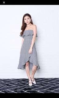 BN Topazette Francesca Gingham Midi Dress