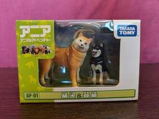 🚚 Shiba Inu & Mame Shiba Inu Collectible Figurine