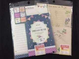 Letter & Envelope Set