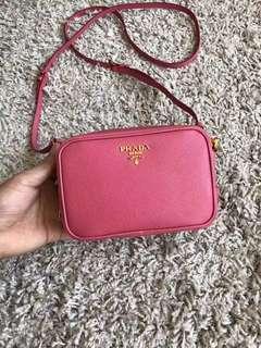 Prada Pink Mini Shoulder Chain Bag