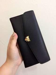 (NEW) Fox Wallet black color