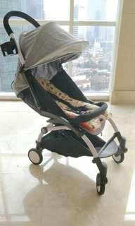 Stroller bayi Chris & Olins Travel