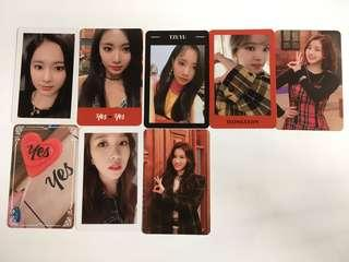 WTS TWICE YES OR YES OFFICIAL PHOTOCARD
