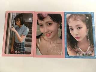 WTS TWICE MOMO TZUYU OFFICIAL PHOTOCARD