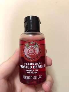 BN Bodyshop frosted berries showergel