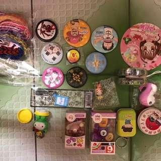 🚚 迴紋針&印章&我們這一家的小盒子&各式各樣的小玩物