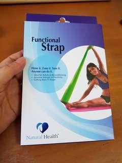 Natural Health Functional Strap (reduced to clear)