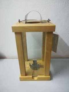 Ikea Lantern for block candle